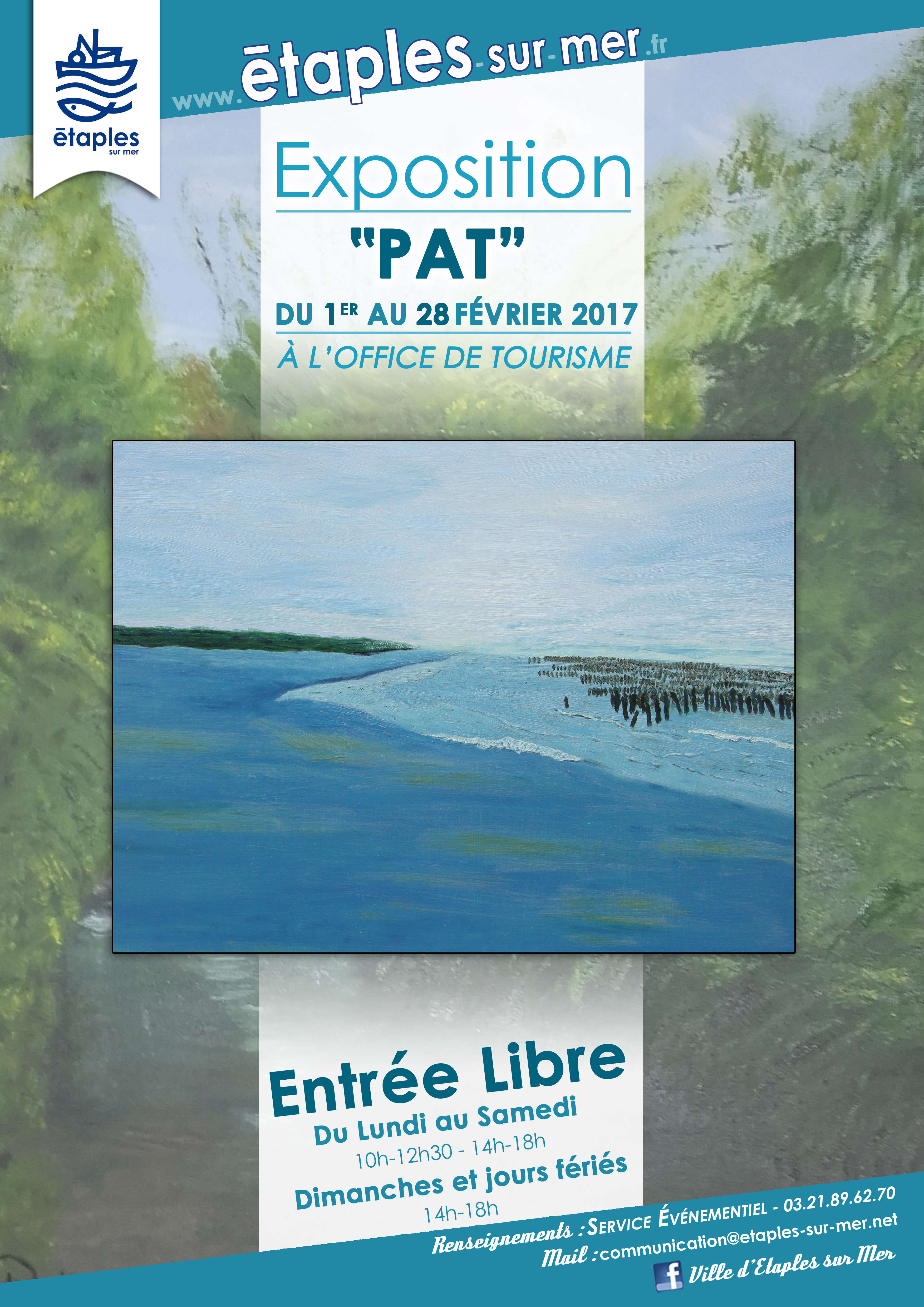 Exposition temporaire de l office du tourisme f vrier 2017 - Office de tourisme de l aiguillon sur mer ...